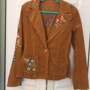 Johnny Was Corduroy Jacket